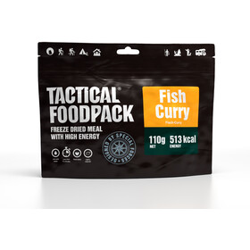 Tactical Foodpack Freeze Dried Meal 110g, Fish Curry and Rice